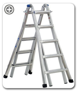 Werner Ladders MT-22 J-locks
