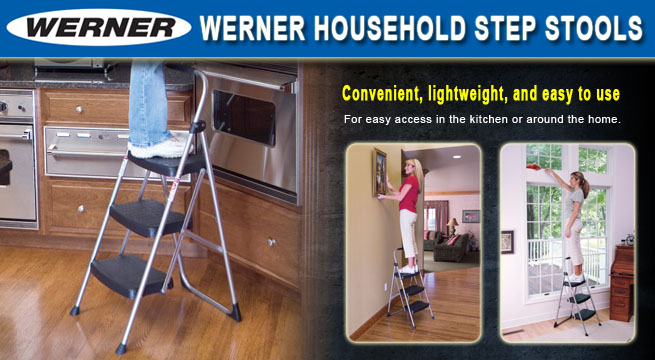 Werner 200-Series Step Stools